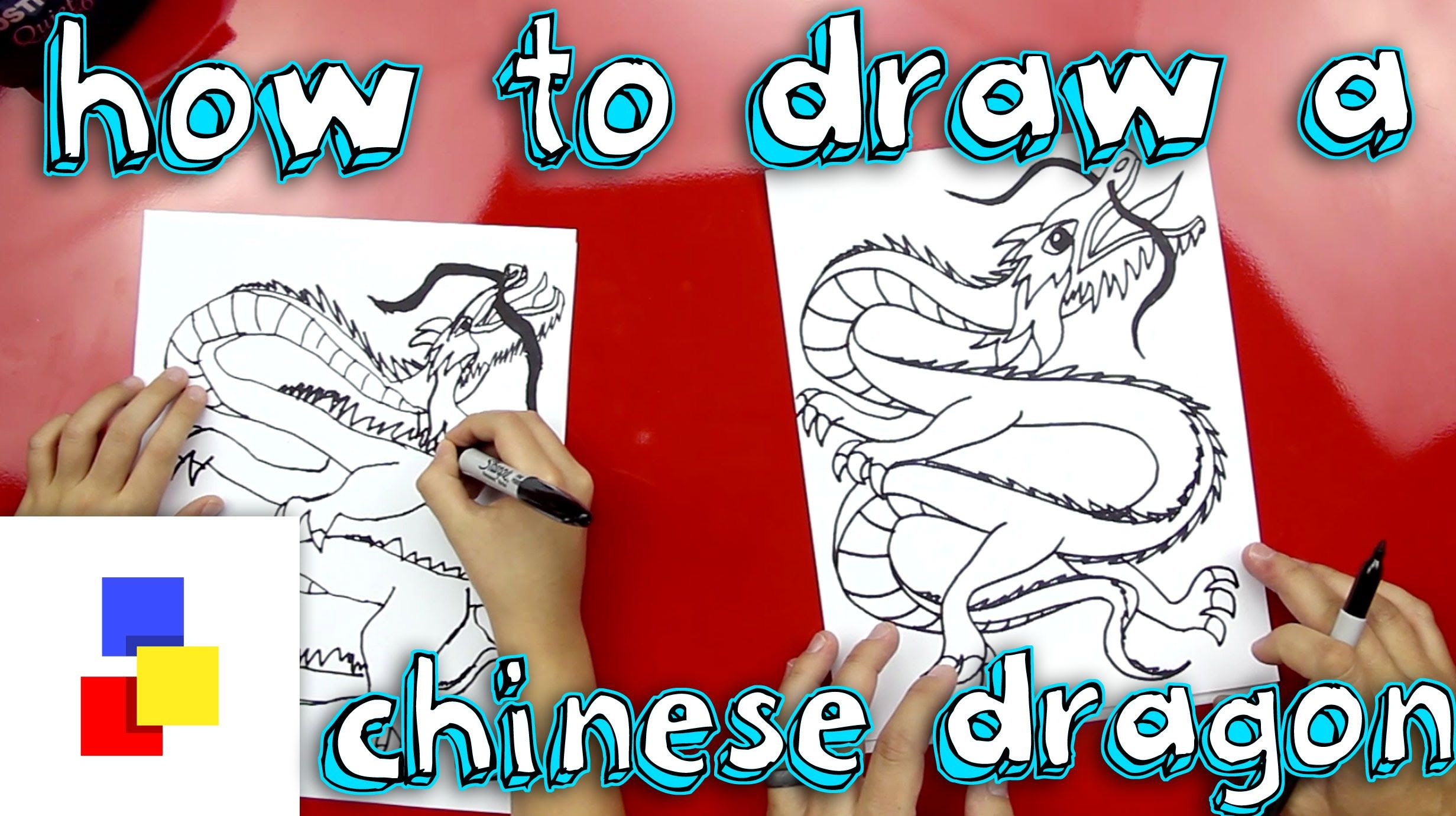 How To Draw Chinese Dragon