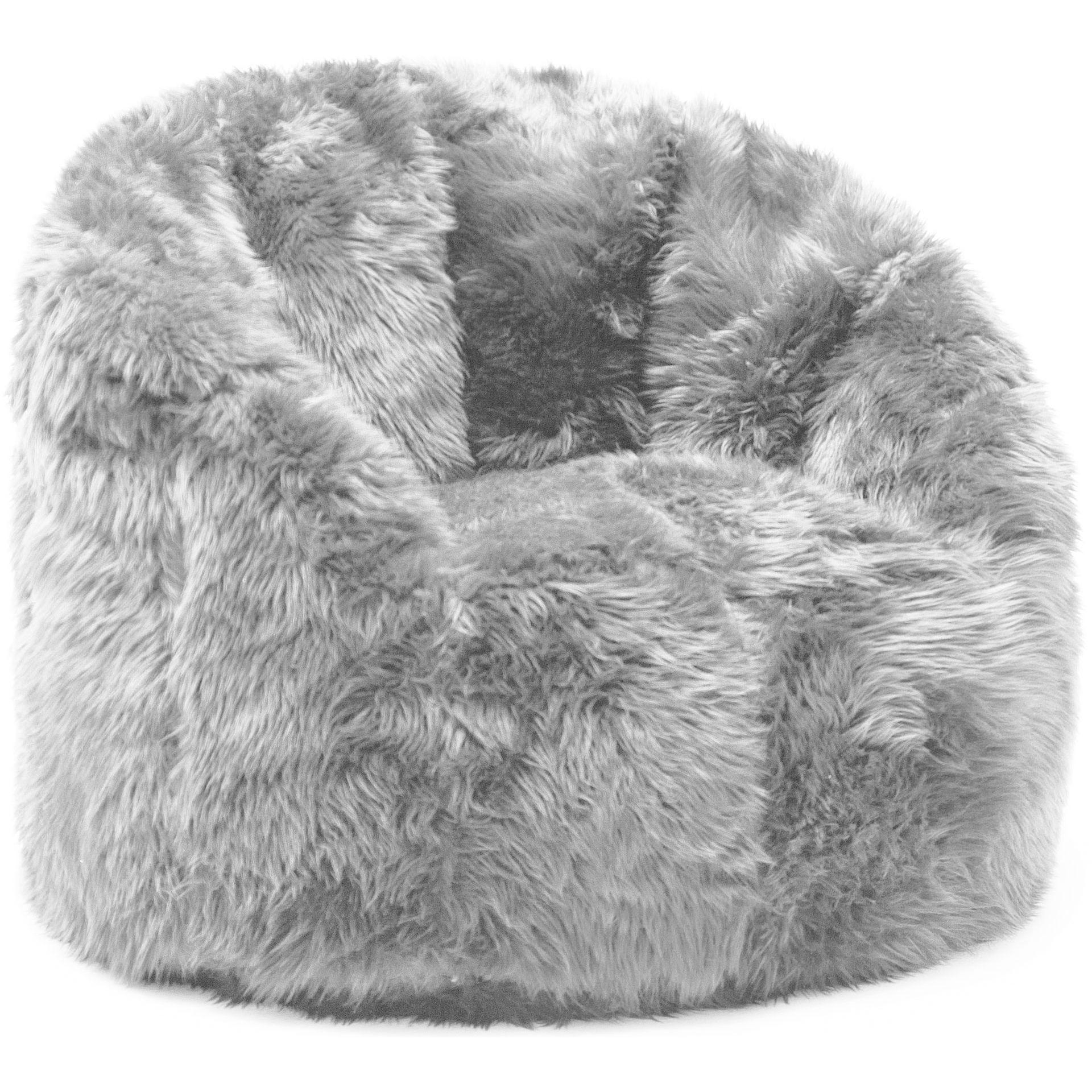Comfort Research BeanSack Big Joe Milano Faux Fur Bean Bag