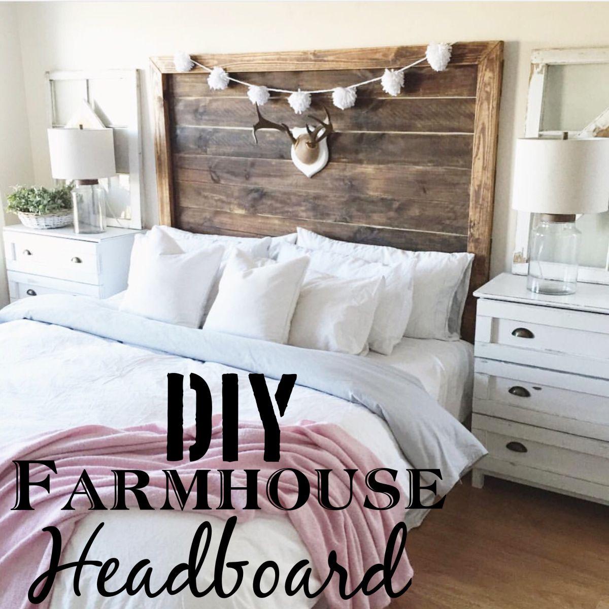Diy King Farmhouse Headboard