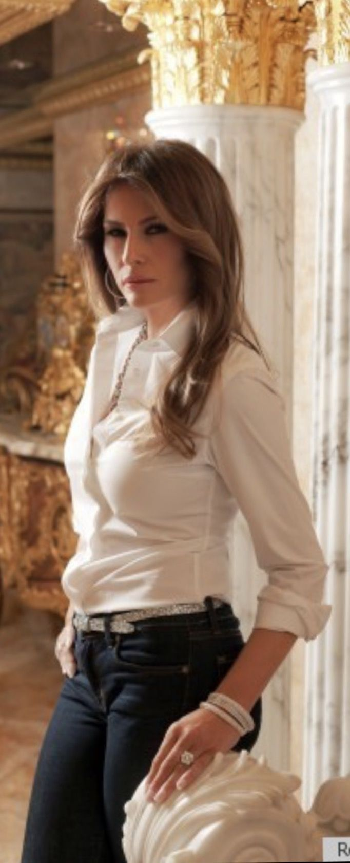 First Lady Melania Trump Melania Trump Pinterest
