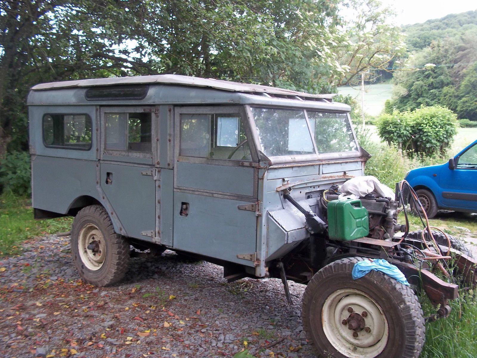 "Landrover Defender Land Rover series 1 Station Wagon 107"" genuine"