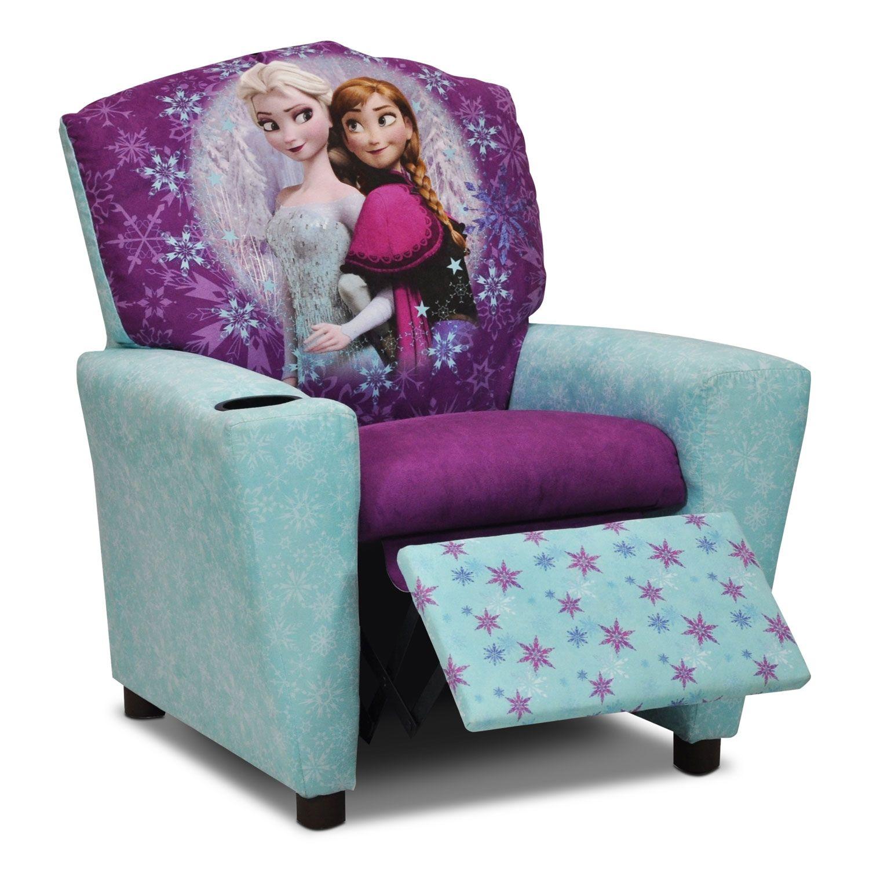 Living Room FurnitureFrozen Kids' Recliner Leon's