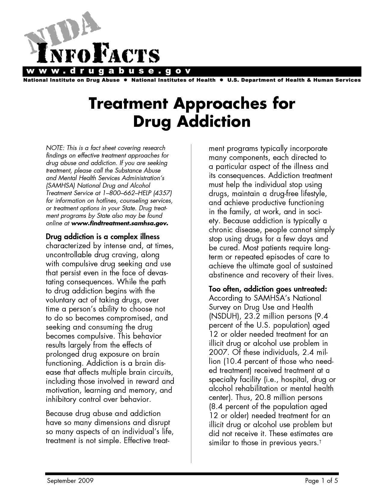 Free Relapse Prevention Worksheets