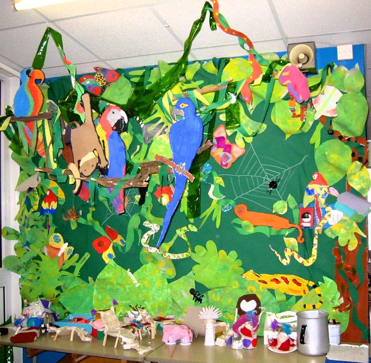 Rainforest Art Ideas For Primary School