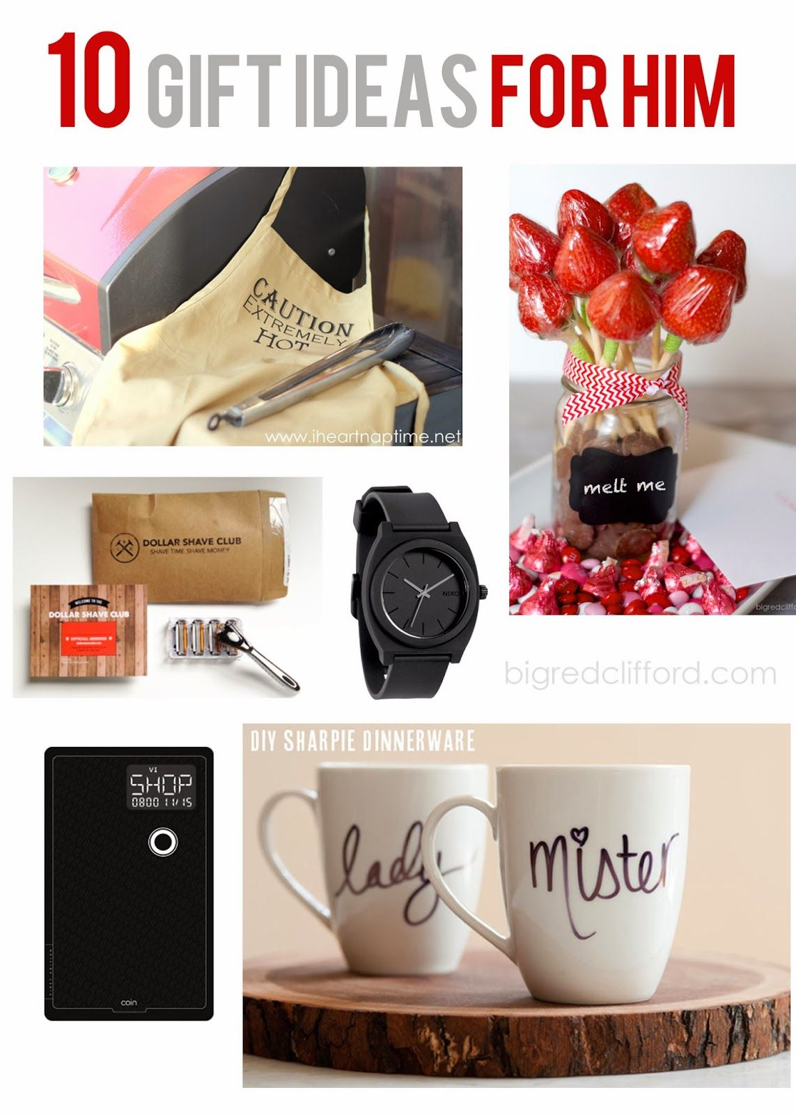 valentines ideas for HIM. DIY, and quick amazon grabs. you