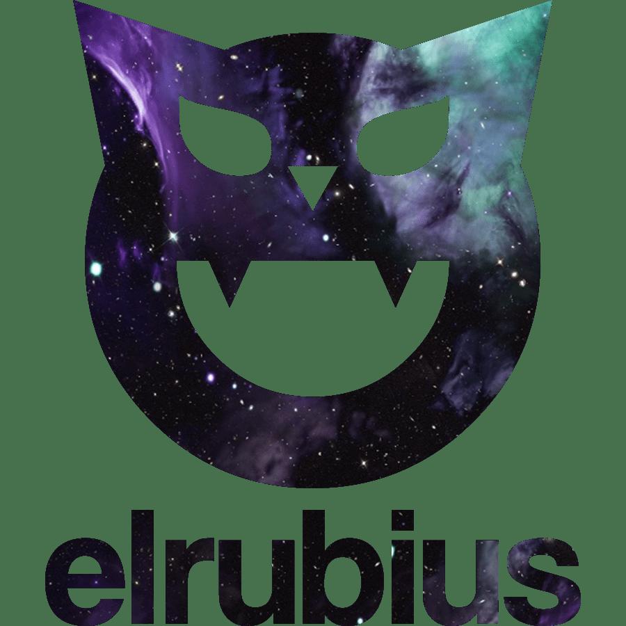 Elrubius website logo rubiuhv Pinterest Youtube and