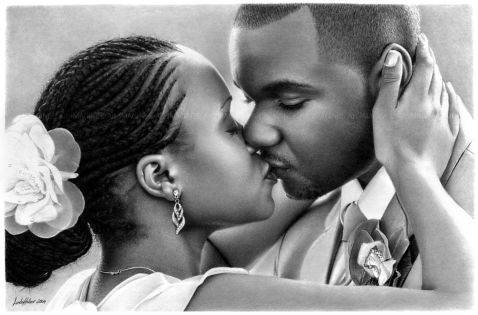 Image result for couple kissing black