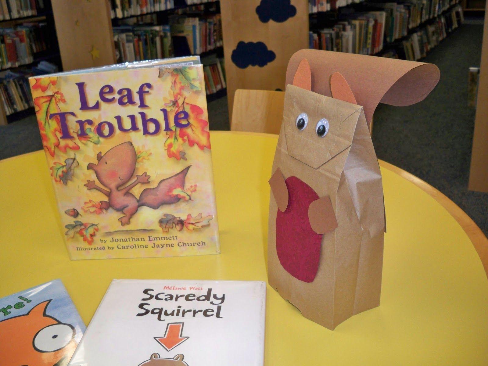 Squirrel Crafts For Preschoolers