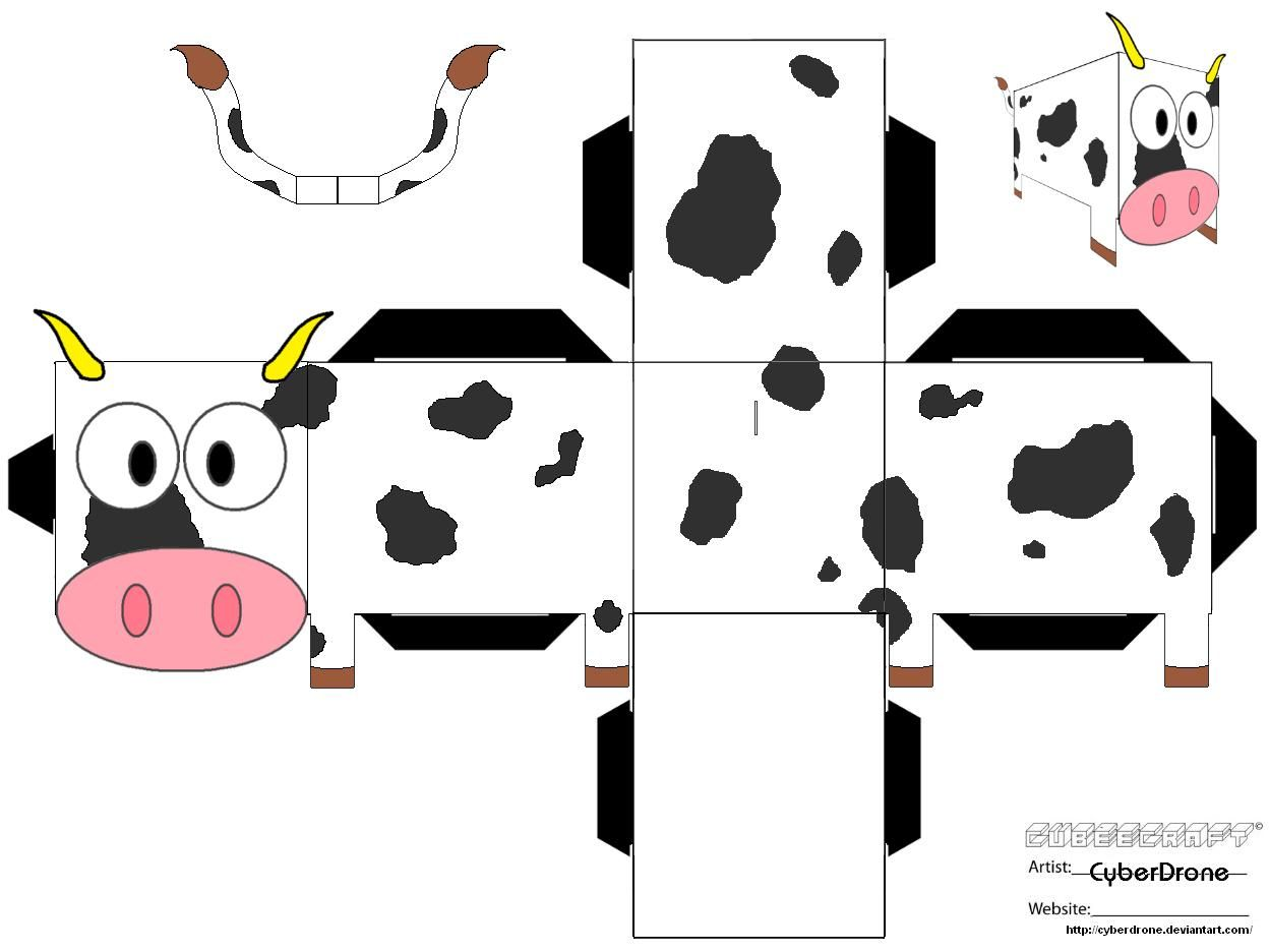 Use This Cow Pattern For Bulletin Board Of Country Road