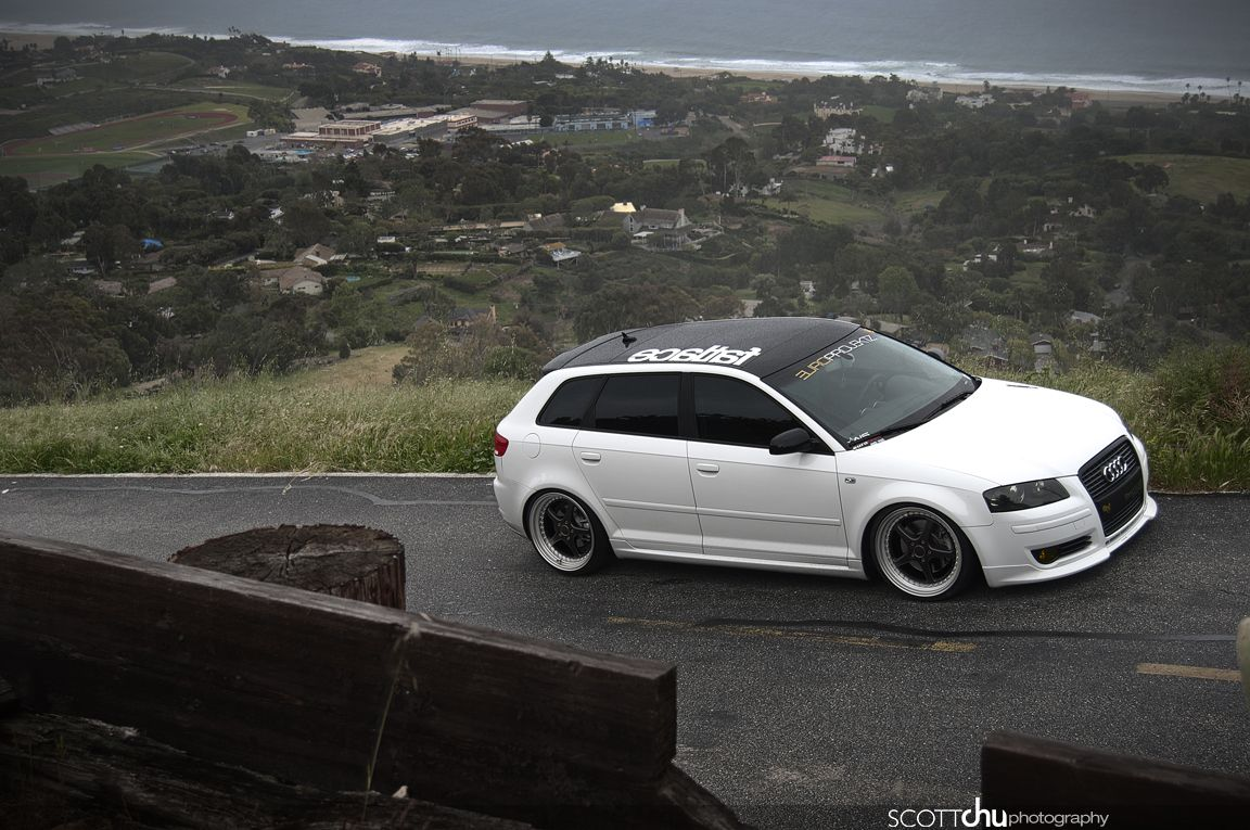 Slammed Audi Wagon E92 328xi Space Gray Audi Slammed