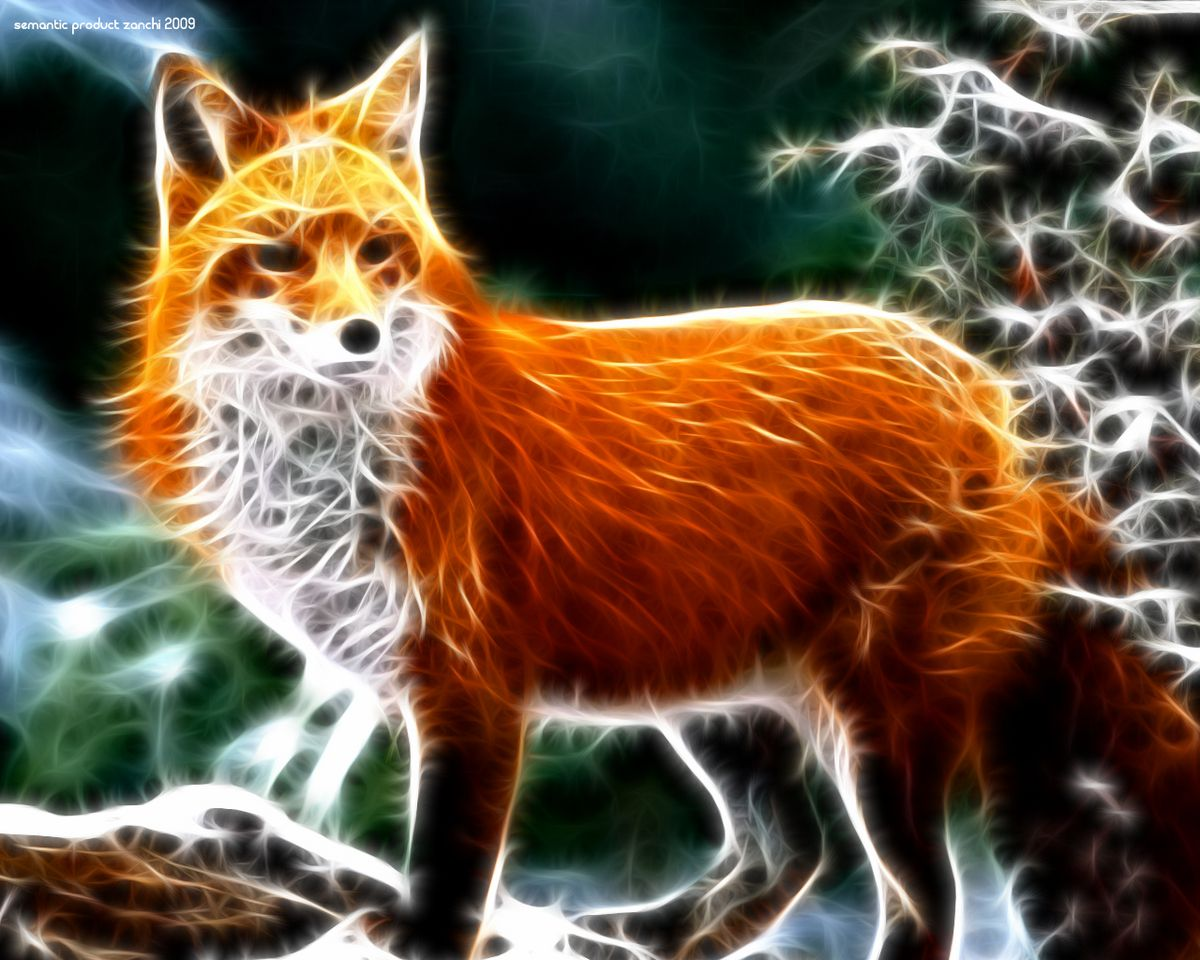 Fractal Animals Wallpapers