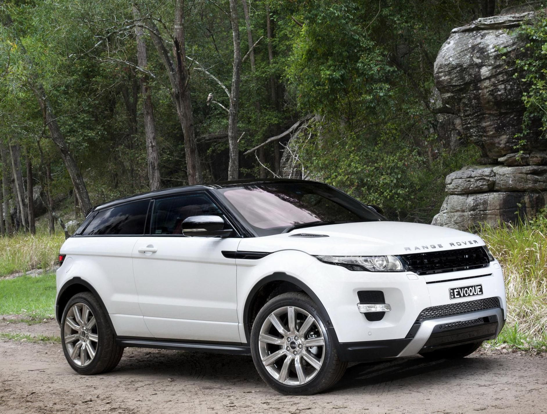 Range Rover Evoque Coupe Land Rover review http