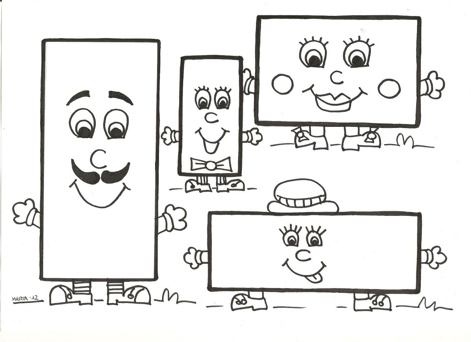 Cosetes D Infantil Imatges Conte Del Rectangle