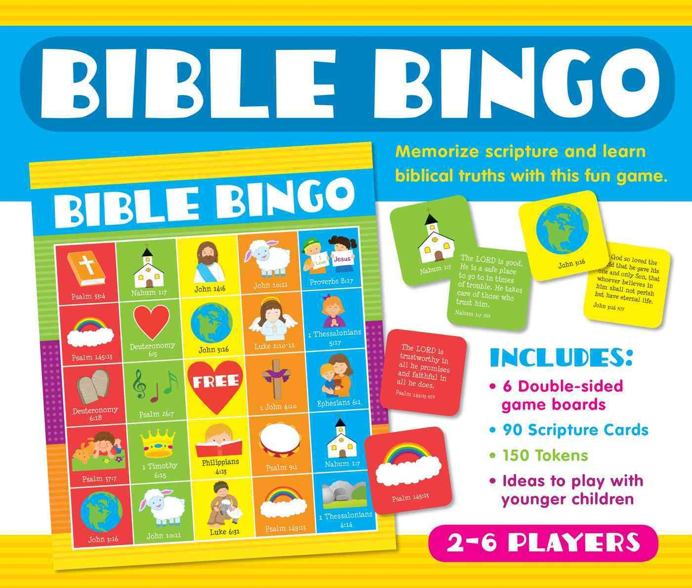 Bible Bingo Is A Fun Engaging Game That Encourages Your