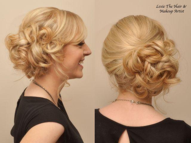 side bun updo - google search | hair | pinterest | side bun updo