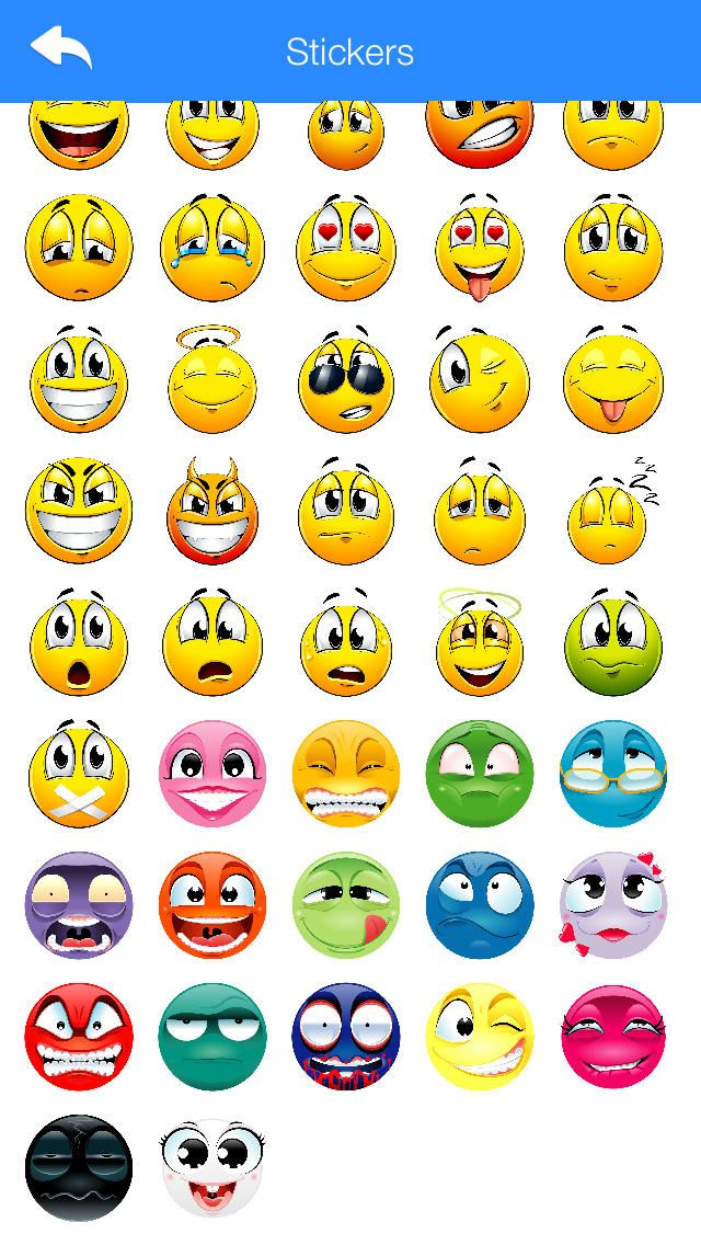 Stickers for WhatsApp, Viber, Line, Telegram and other