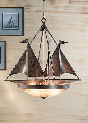 Sailboat Chandelier Look How You Can Update All Those Ugly Builder Grade Lights Nautical Lighting