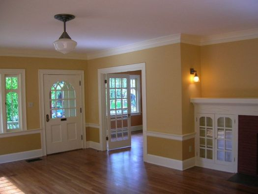 Interior House Painting Image Highlighting Doors Windows Trim Excellent Tutorial W