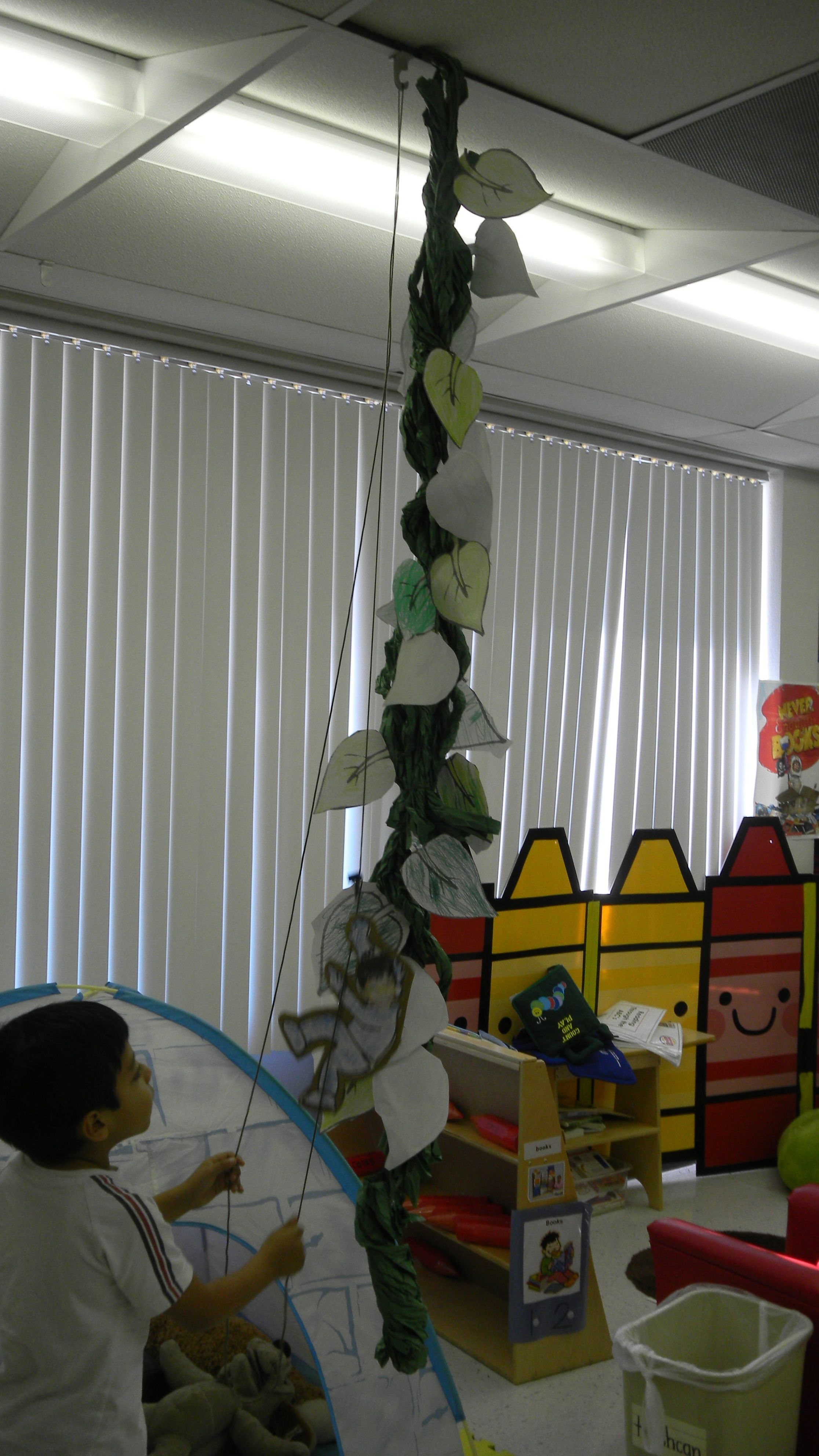 Cute Project When Learning About Jack And The Beanstalk