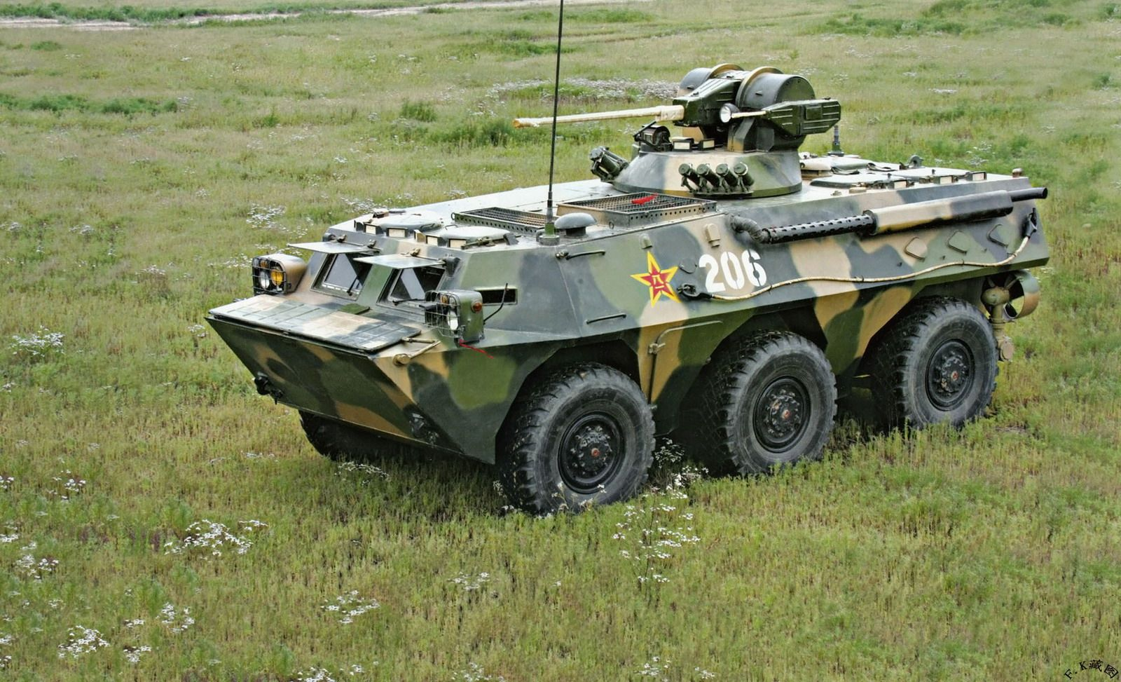 Type 92/WZ551A Infantry Fighting Vehicle (China) Combat