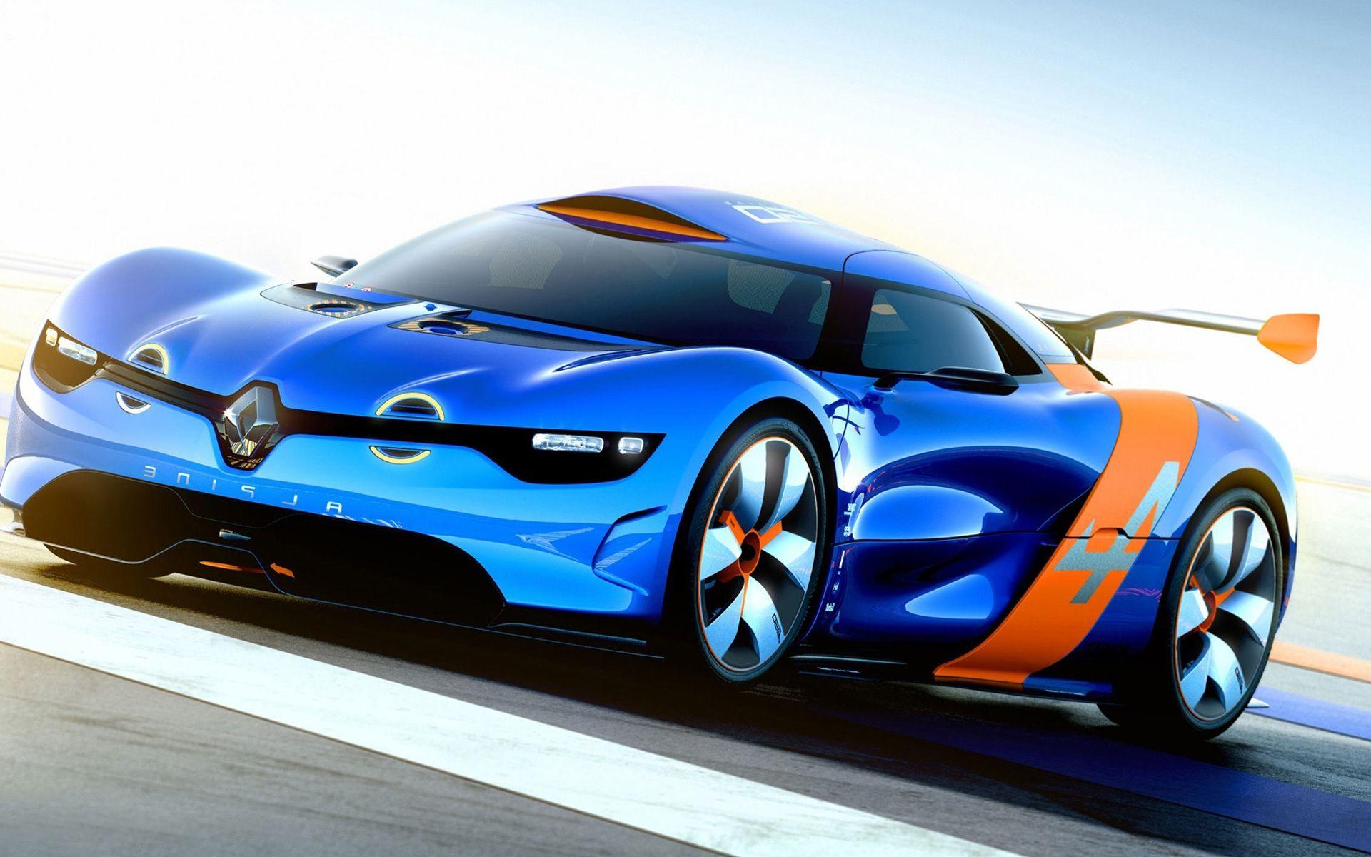Blue+Sports+Car Renault Alpine Blue Sports Car Sports