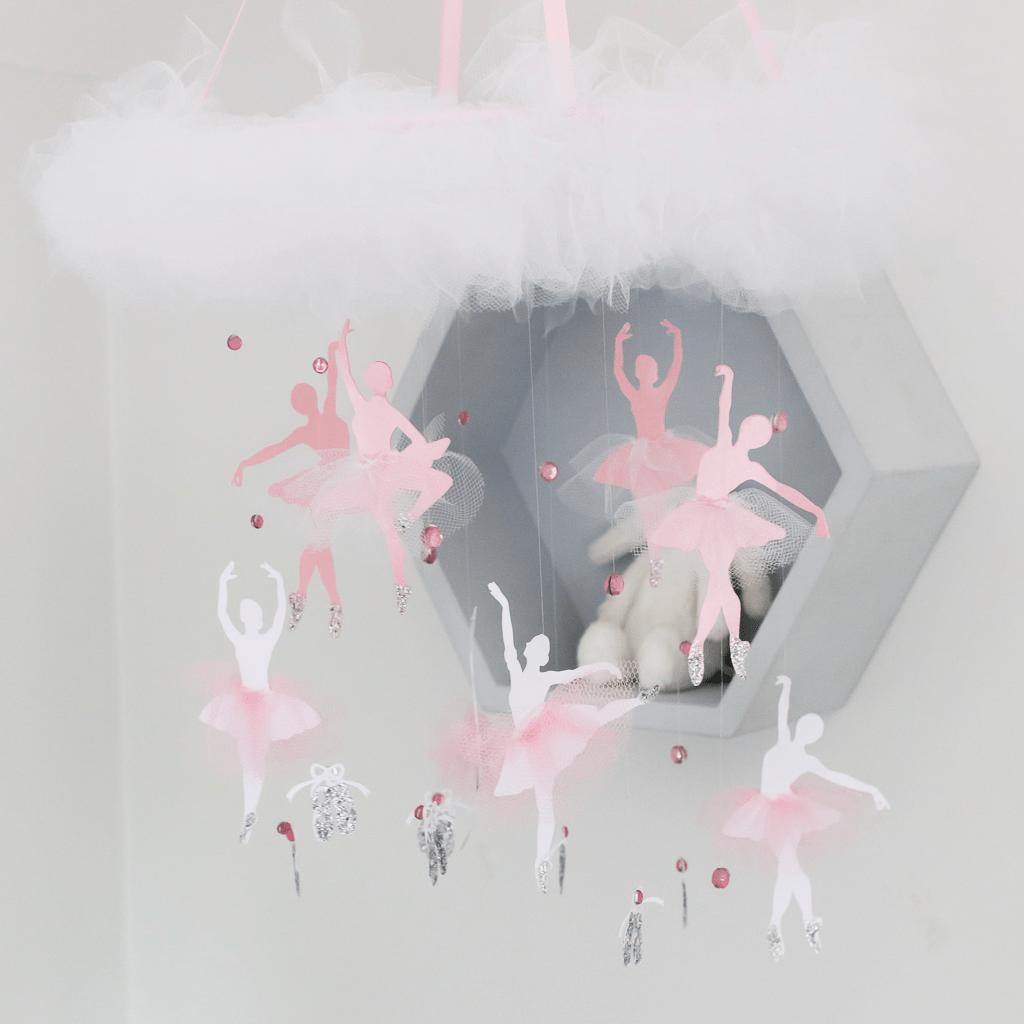 Ballerina Mobile For A Little Girl S Nursery Or Bedroom