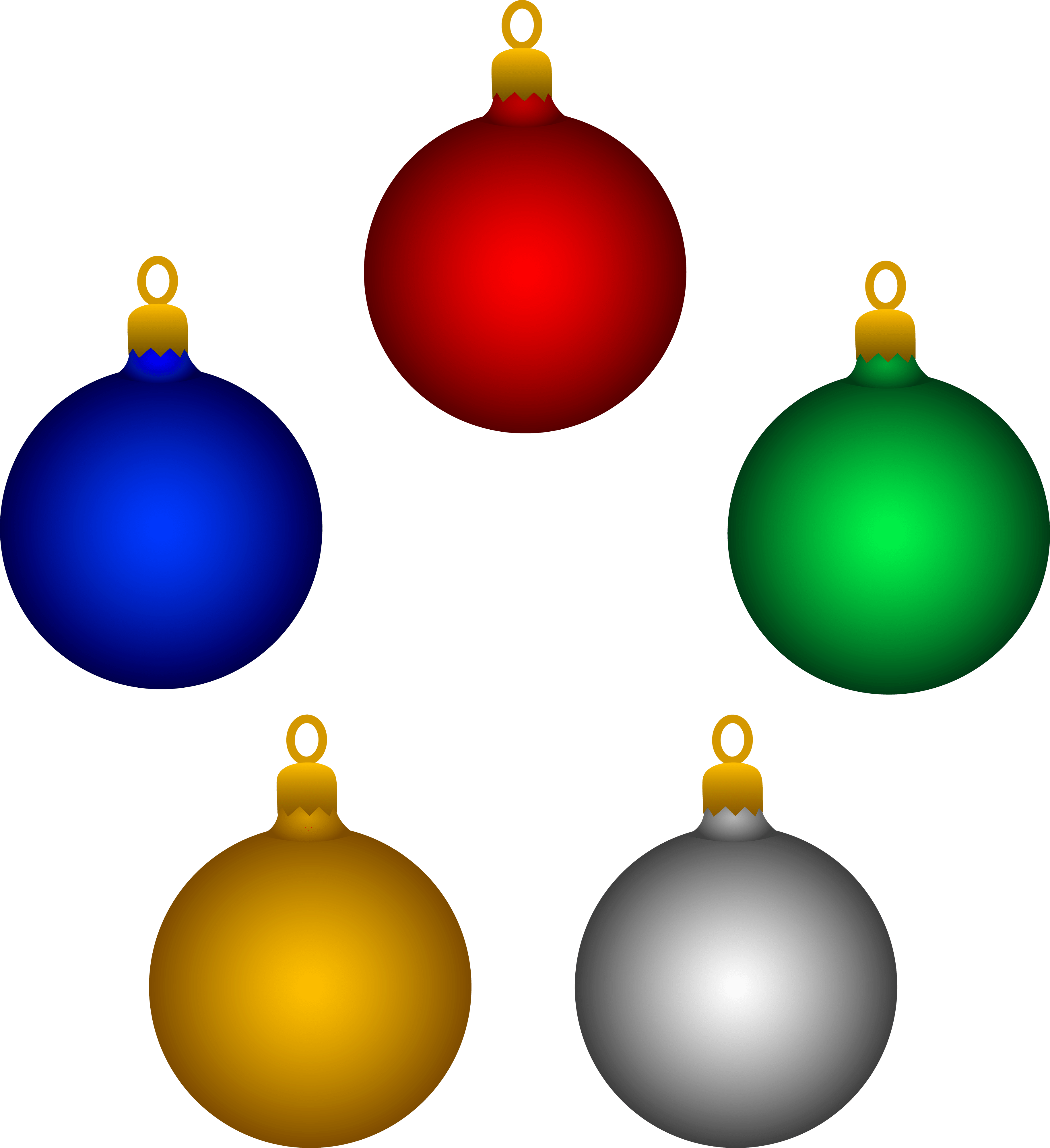 Clipart Christmas Decorations Clipart Panda Free