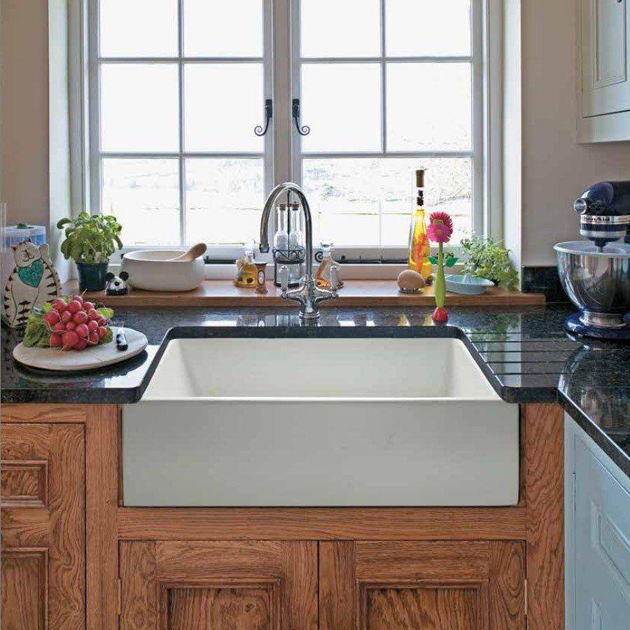 Randolph Morris 24 x 18 Fireclay Apron Farmhouse Sink 408