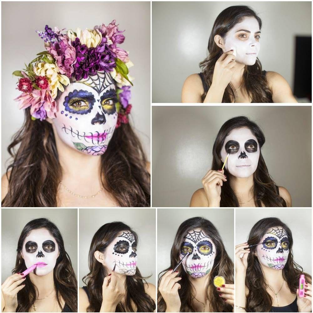 Disfraz de Catrina o calavera mexicana, ¡ideas y paso a