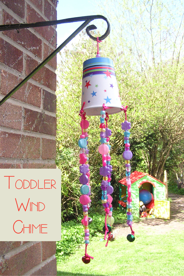 Recycled Wind Chime Craft Craft cupboard, Cupboard and Cups