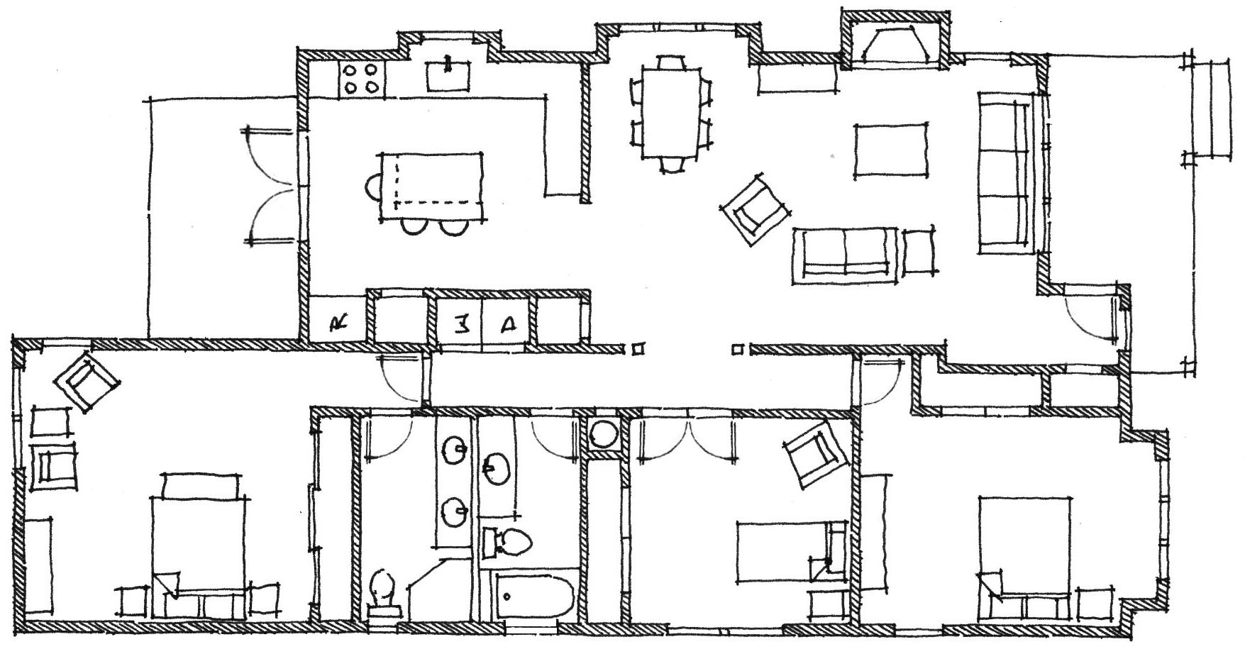 Old Fashioned Farmhouse Floor Plans
