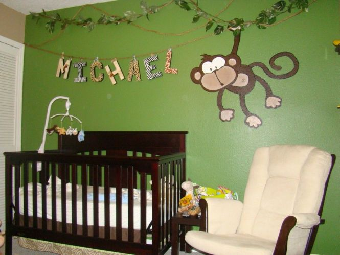 Michael S Jungle Baby Room Project Nursery