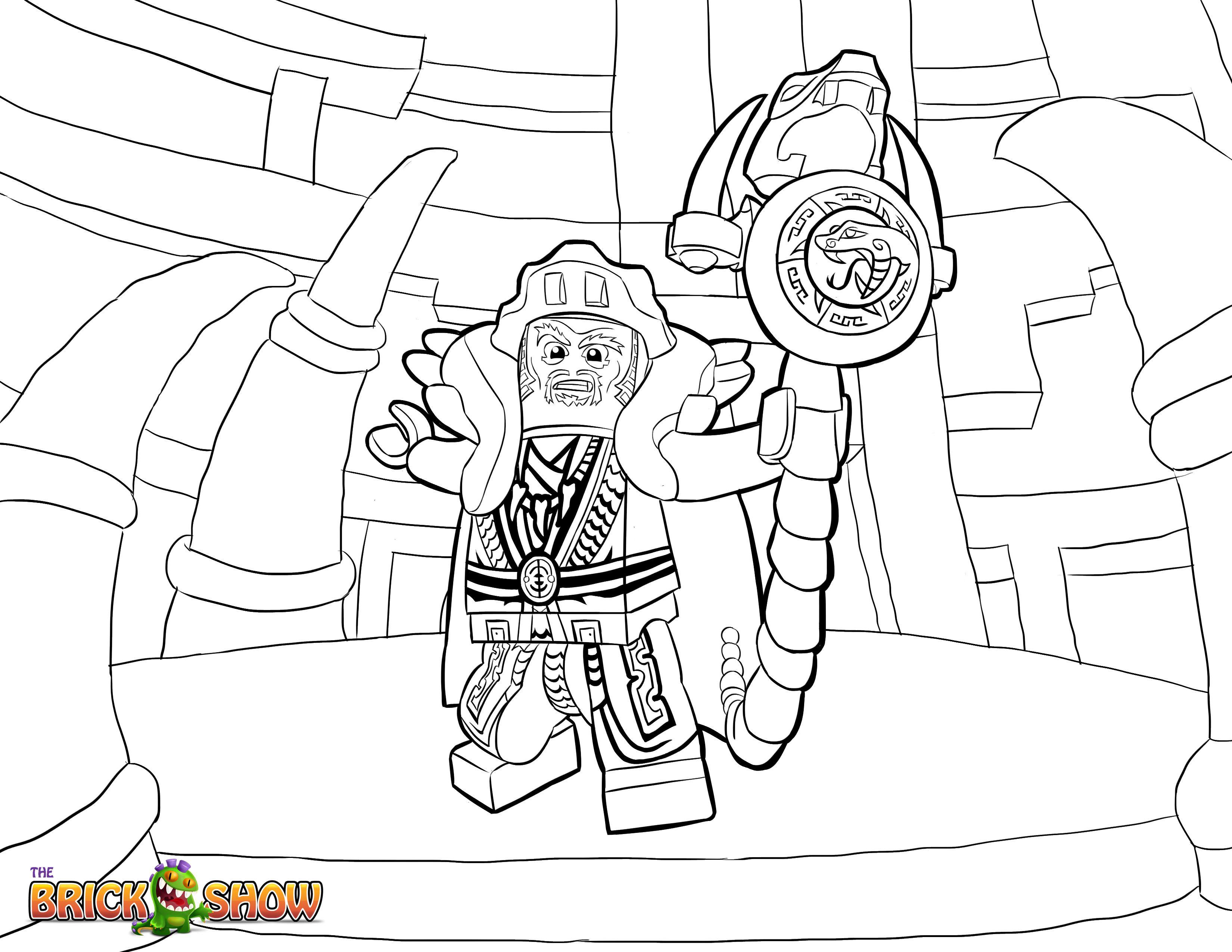 Lego Ninjago Coloring Page Lego Lego Ninjago Master Chen Printable Color Sheet