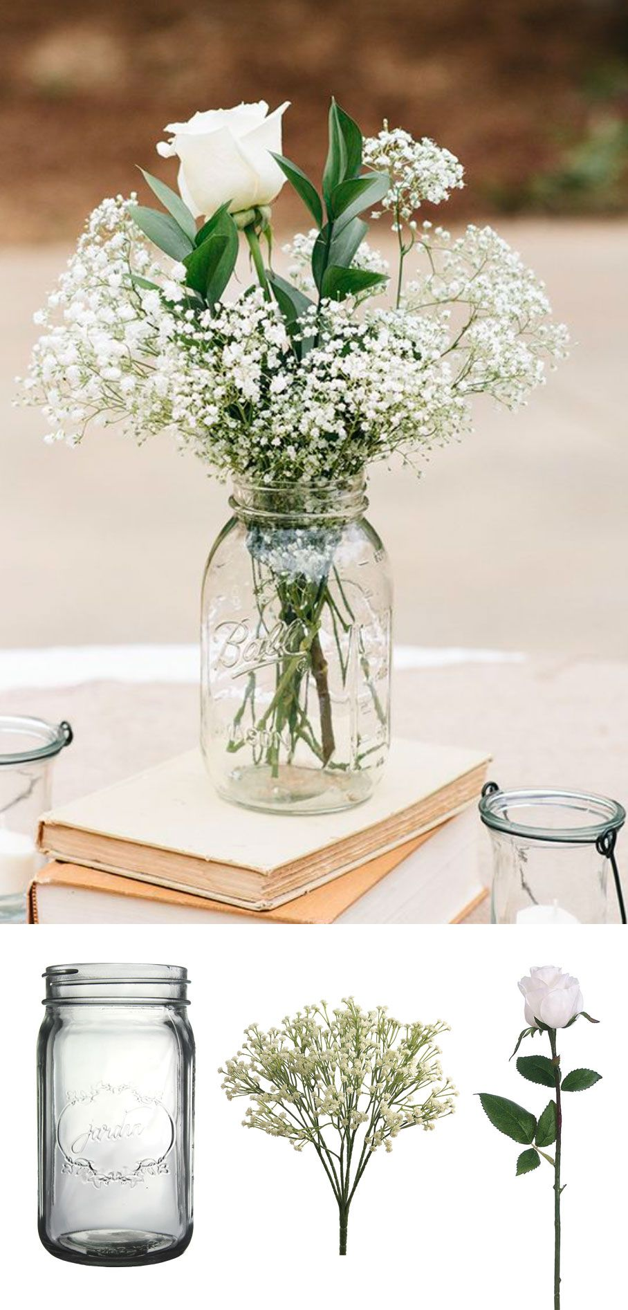 Turn your favorite fresh flower inspiration into a long
