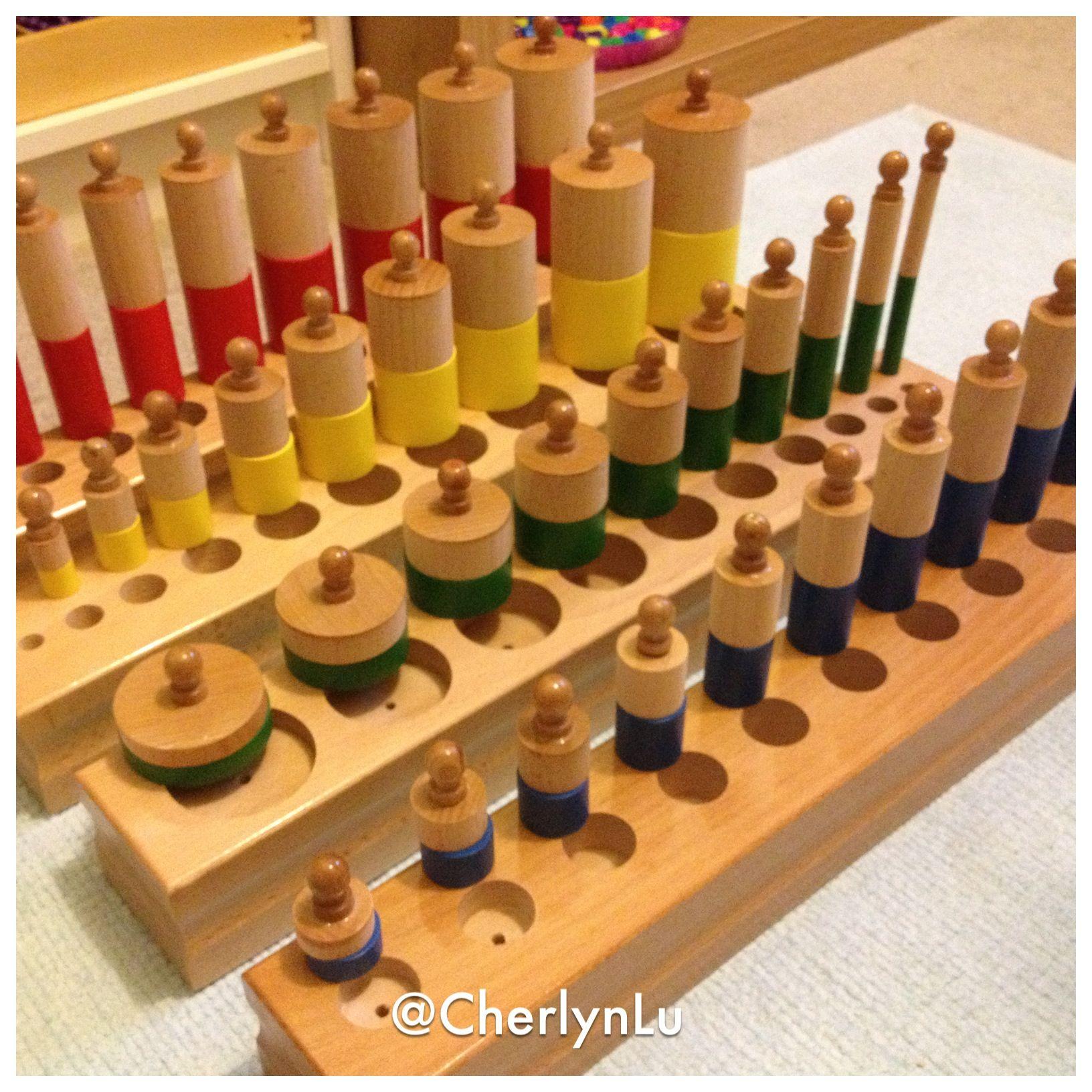 Knobbed Amp Knobless Cylinders Kapadokya Montessori