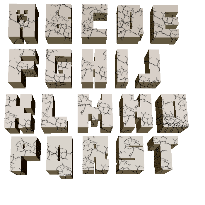 minecraft alphabet print Request. Minecraft logo replica