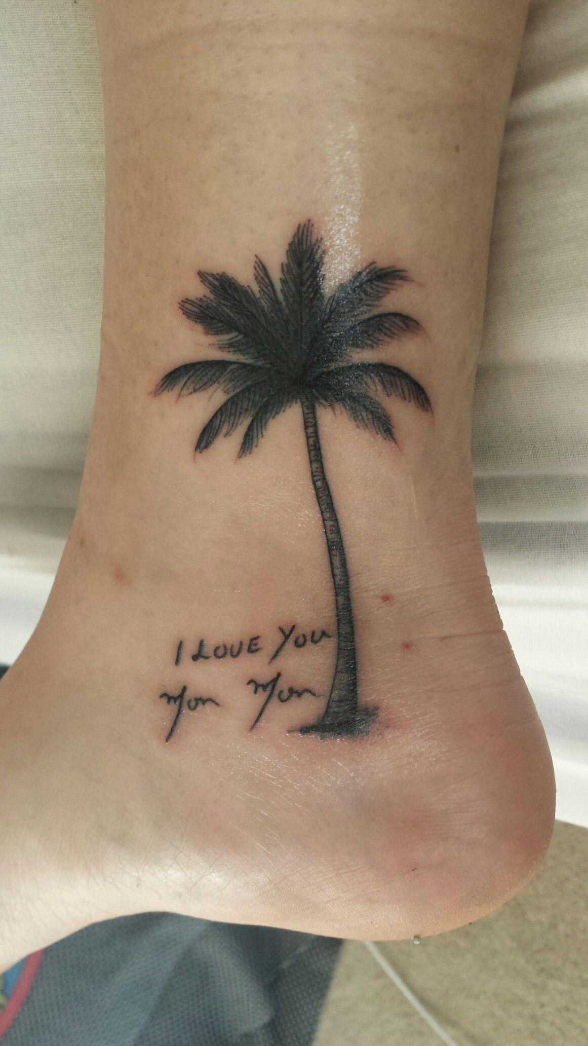 Palm tree tattoo Tattoos Pinterest Palm, Tattoo and