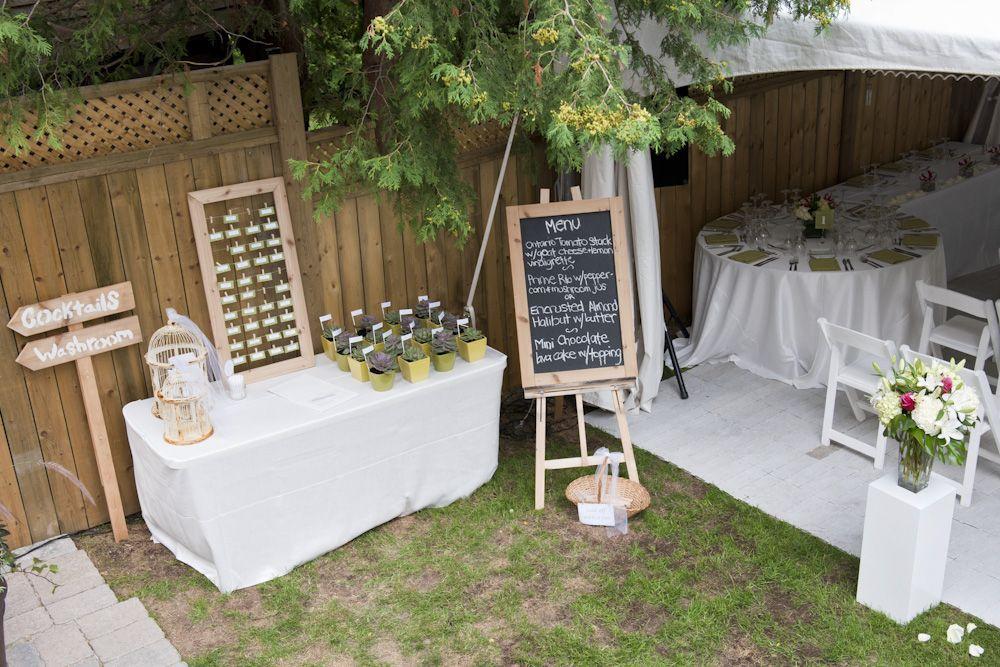 summer backyard wedding merry & marry Pinterest