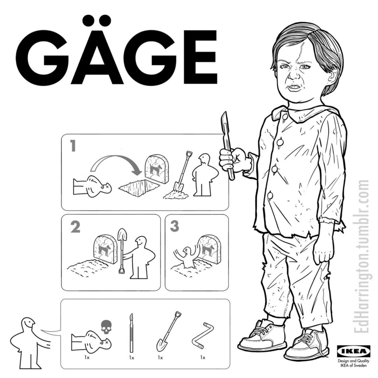 Pet Sematary Ikea Instructions By Ed Harrington