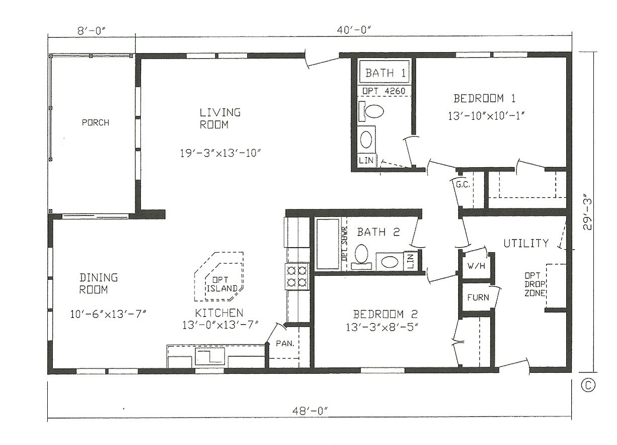 Best House Architecture Floor Plans Modular Homes With Terrific Kithen And Dining Open Floor Eco