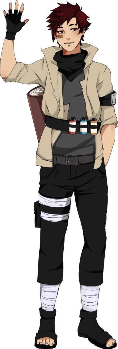 Naruto OC Shirou Heiki by on