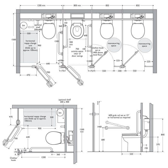 Interiors Ref Toilet Cubicle Dimensions Interiors