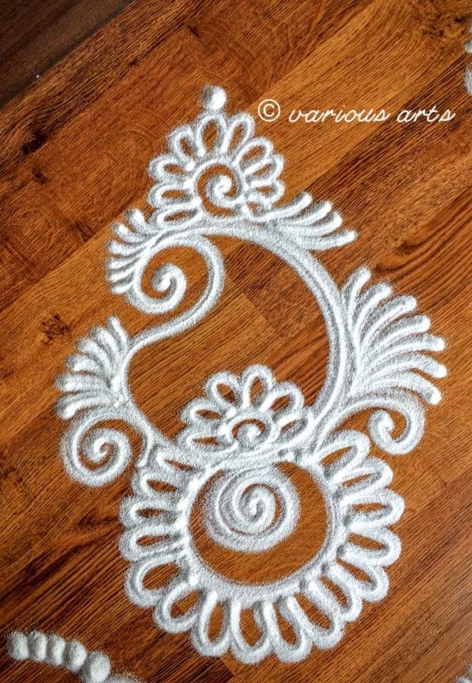 Simple Rangoli Design … Pinteres…