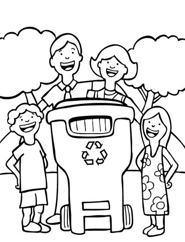 1000 images about recycling on pinterest earth day coloring