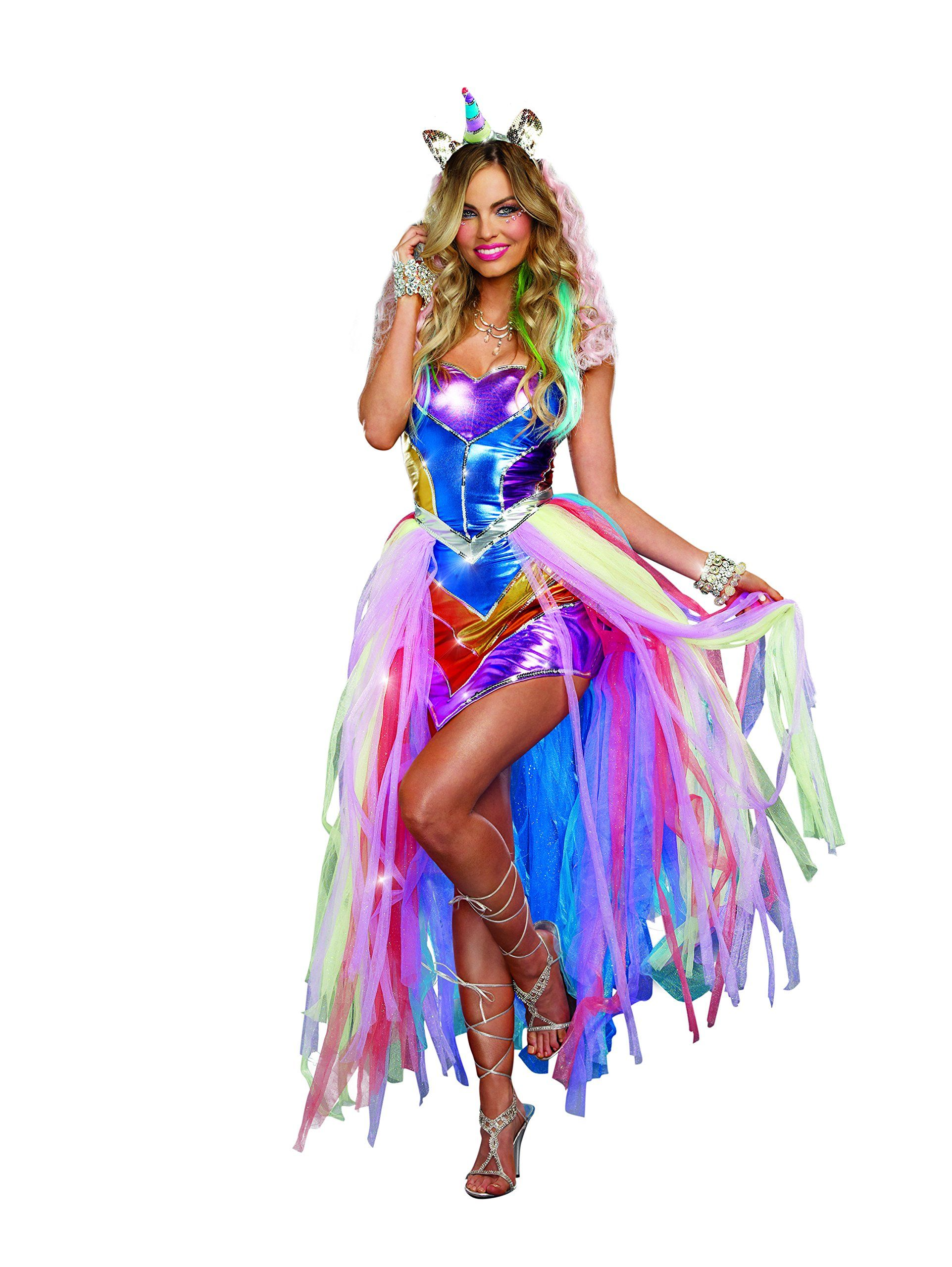 Dreamgirl Women's Sexy, Fun and Colorful Rave