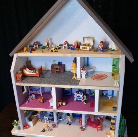 Fabriquer Une Maison De Poupe Ou De Playmobil Playmobil
