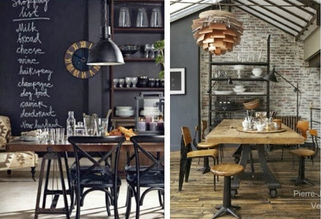 Best 25 Industrial Dining Rooms Ideas On Pinterest
