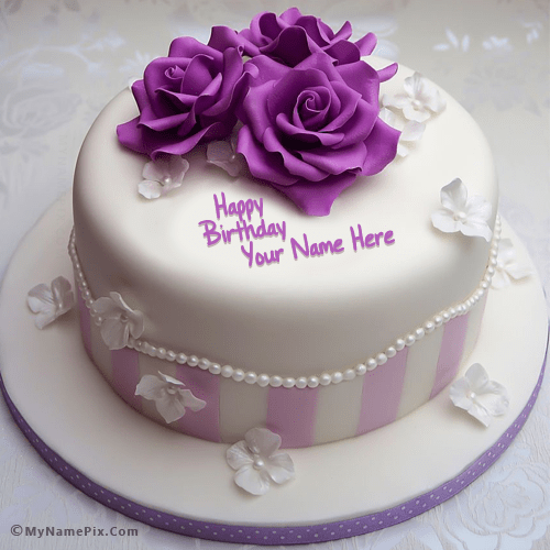 Best 1 Website for name birthday cakes. Write your name