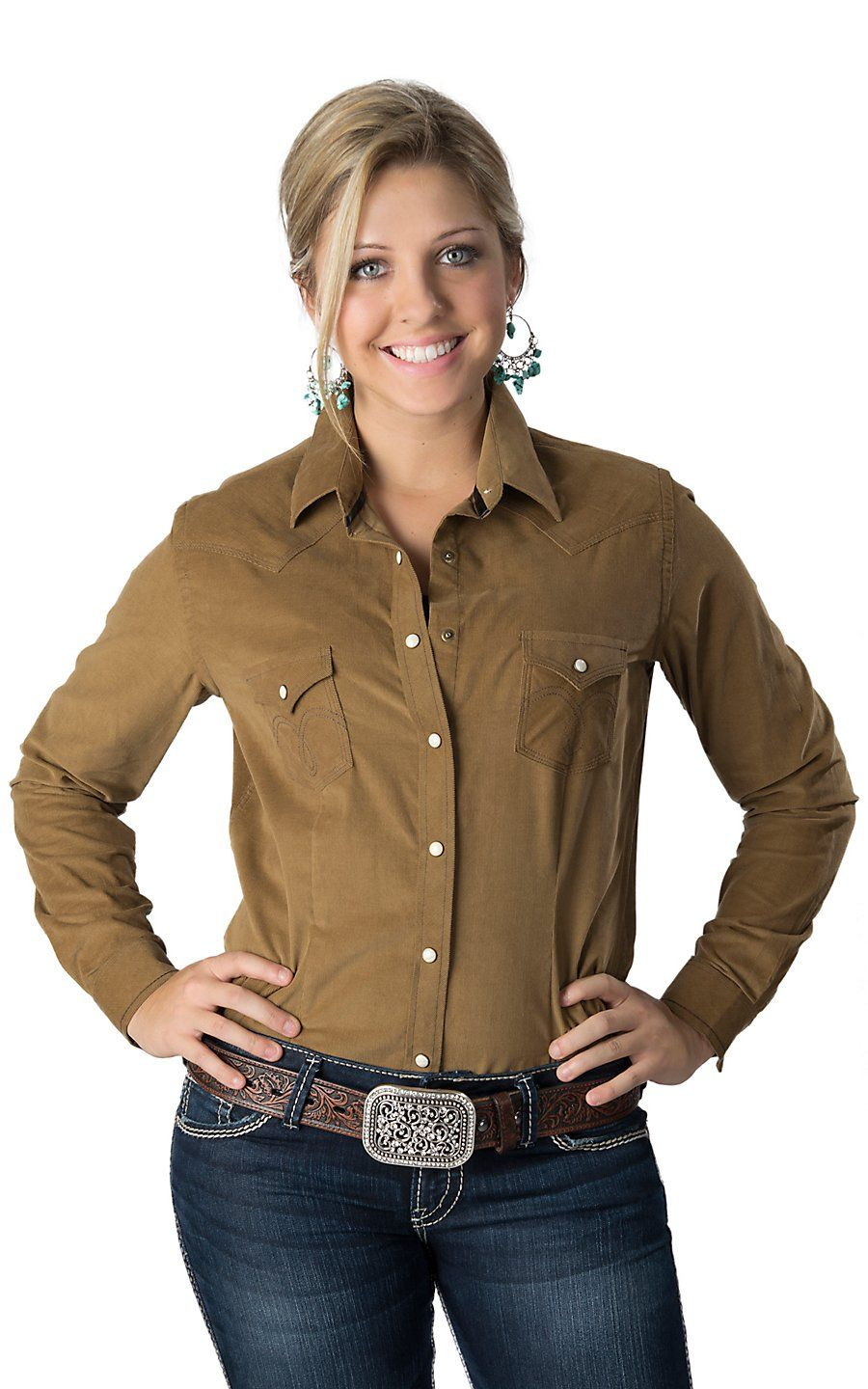 Download Cumberland Outfitters Ladies Black with White Piping Long ...