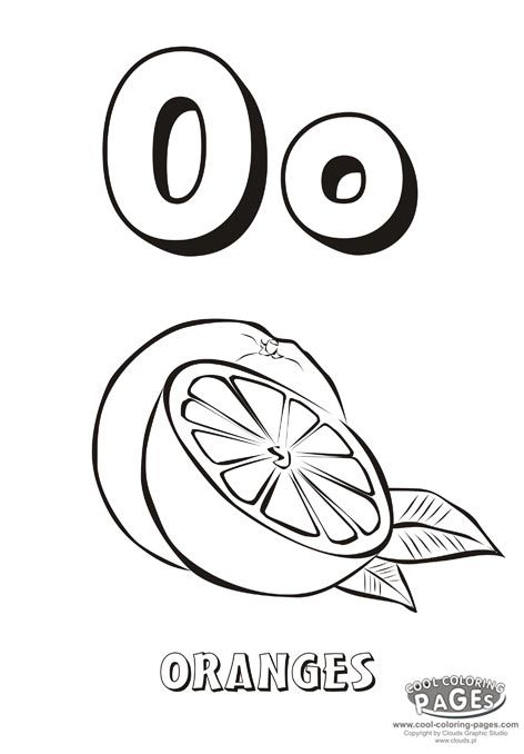 1000 images about letter o on pinterest coloring pages letters
